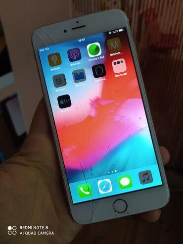 İşlənmiş iPhone 6 Plus 64 GB Qızılı
