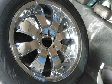 amg диски 18 в Кыргызстан: Продаю хромированные диски R20. Подойдут на Toyota Prado Sequoia
