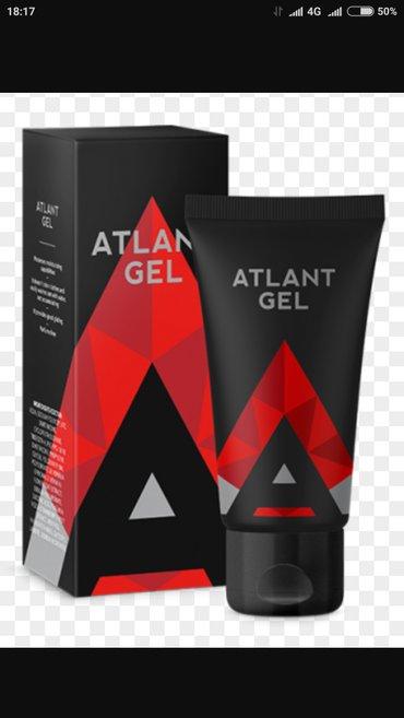 Atlant gel для увеличения члена быстро и эффективно увеличивает полово в Лебединовка