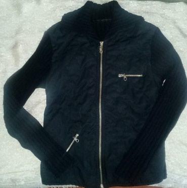 Ženska jakna, vel S, štrikani rukavi i leđa. - Sombor