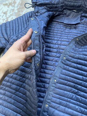летнее платье 52 размера в Кыргызстан: Продаю демисезонную турецкую куртку, покупали. Размер 52. Цвет синий