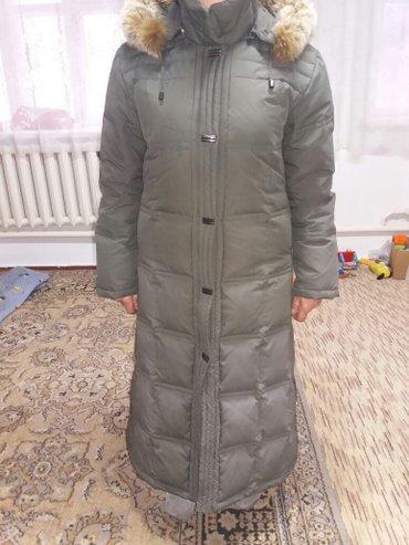 Пальто тёплое,мех натуральный на в Бишкек