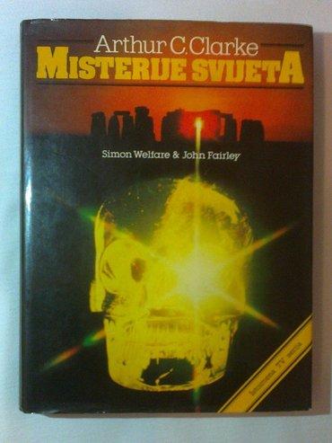 """Prodajem knjigu """"misterije sveta"""" od artura c. Klarka,knjiga je - Belgrade"""