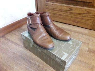 Итальянские кожаные ботиночки, размер 38, в хорошем состоянии. в Бишкек