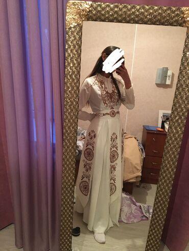 вечернее платье 44 размер в Кыргызстан: Продаю национально красивое платье на кыз-узатуу, одевала 1 раз имее
