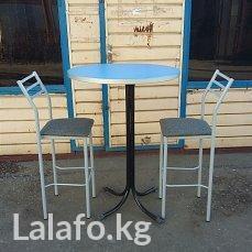 Делаю барные столы и стулья на заказ, ул Алматинская 432 в Бишкек