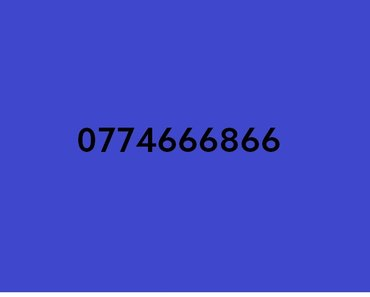Номер 0774666866 в Бишкек