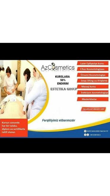 Bakı şəhərində Kosmetologiya kursu.Lazer tedrisi