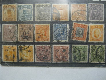 Марки - Бишкек: Набор марок Китай (№1). 1930-50-х гг.Цена за 1 набор. Всего 5
