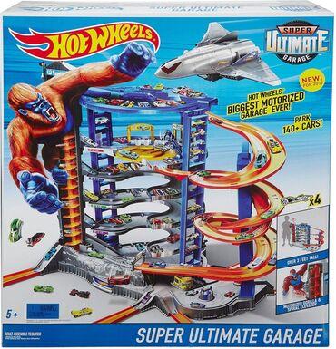 daimler super eight в Кыргызстан: Гараж Хот Вилс Супер Ультиматум (Hot Wheels Super Ultimate Garagе