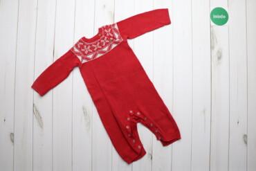 Дитячий комбінезон з візерунком F&F, р. 12-18 місяці Тепла піжама