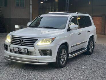 Lexus - Бензин - Бишкек: Lexus LX 5.7 л. 2012 | 130000 км