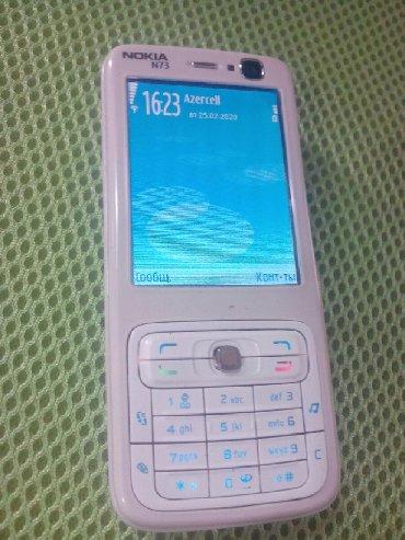 Nokia Sumqayıtda: Salam şəkildə olan nokia n73 heç bir problem yoxdur adapteri var