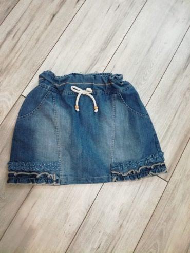 Bambino teksas suknjica vel. 8, nije nosena, samo je skinuta etiketa i - Kostolac