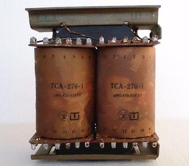 Силовой трансформатор ТСА 270-1 новый и тороидальный трансформатор в Бишкек