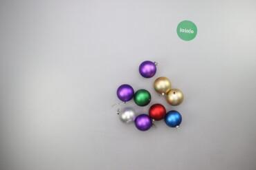 Дом и сад - Украина: Ялинкові прикраси кульки   Кількість: 9 шт. Діаметр: 8 см  Стан гарний
