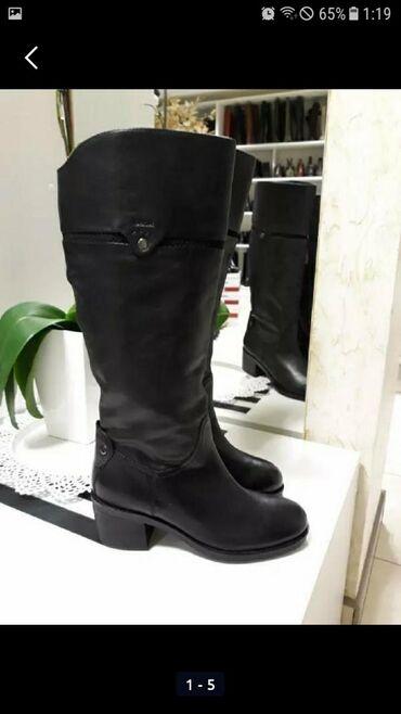 audi v8 d11 36 quattro - Azərbaycan: Geox кожаные сапоги. В хорошем состоянии. Каблук 4см. Доставка около
