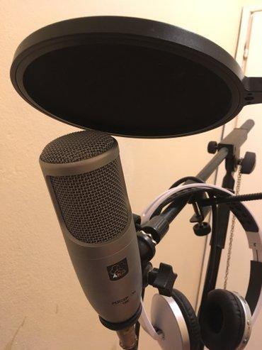 Akg perception 100 - studijski mikrofon... Sa kablom, stalkom za mikro - Beograd