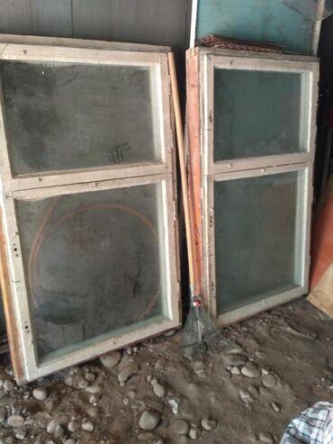 ustanovka windows s vyezdom na domu в Кыргызстан: Продаю окна два комплекта, окна в хорошем состоянии, двойной