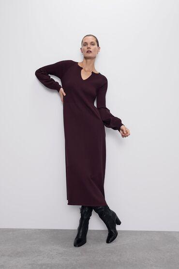летнее платье трапеция в Кыргызстан: Платье Zara оригинал !!!