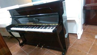 Bakı şəhərində Alexander Herrmann piano -  Almaniya, Çexiya və Rusiya istehsalı