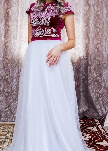 Платье в национальном стиле, размер в Бишкек