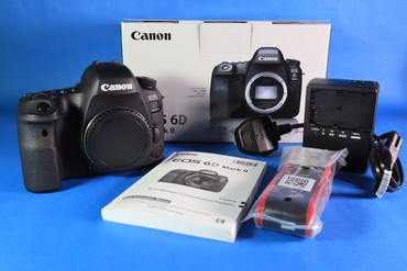 Canon EOS 6D Mark II 26.2MP Digital SLR Camera - Black (Body Only) в Bakı