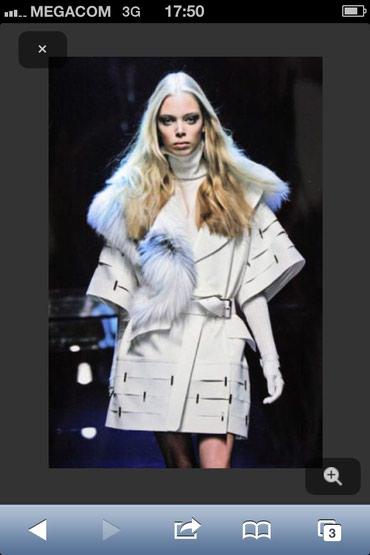 Продается пальто, мех натуралка. Состояние отличное! размер 44 - 46 в Бишкек