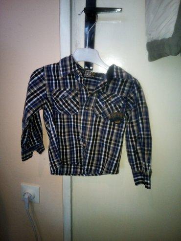 Dečija košulja, oprana, nenošena veličina 2 92 (tanka pamuk 100%) - Kragujevac