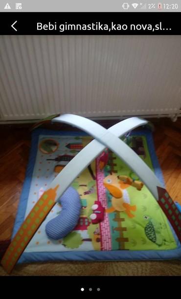 Za decu - Backa Topola: Bebi gimnastika,ocuvana,malo koristena. Moze jos slika ako ste
