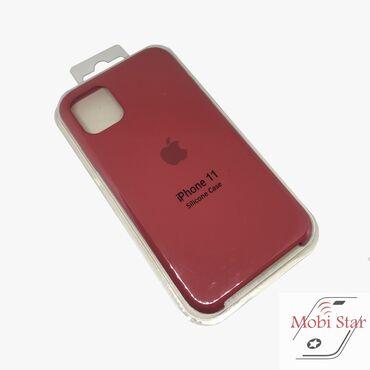 Apple iPhone 11 zaštitna futrola u tamno crvenoj boji. Pored toga što