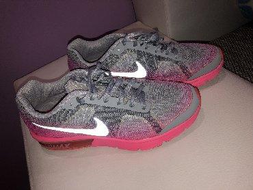 Bluza-sivo-teget - Srbija: Nike patike sivo roze boje