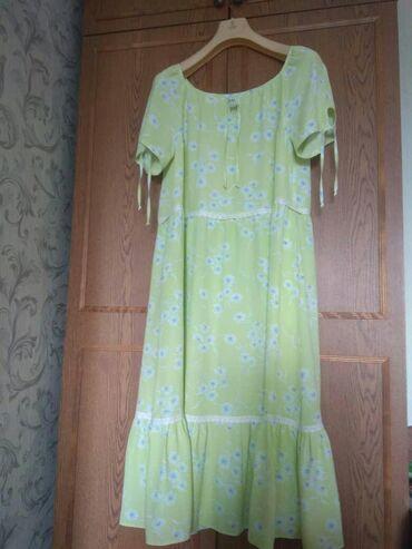 Продаю платье 52-54 размер, новое,штапель, за 1500 сом