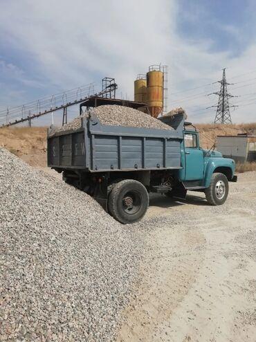 8 пик в Кыргызстан: Отсев мытый для бетонна 8-16тон Зил Камаз доставкаЩебень Зил Камаз