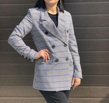 dubljonka s kapjushonom в Кыргызстан: Стильный пиджак Турция качество отличное . Размер S L