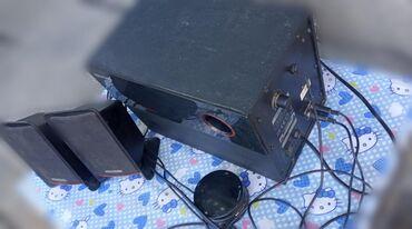 Динамики и музыкальные центры в Каинды: Буфер в хорошем состоянии, стоял некоторое время в машине. Подключаетс