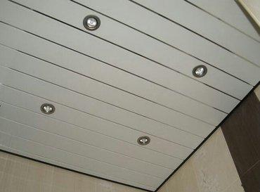 Пластик потолок ремонт кылам в Бишкек