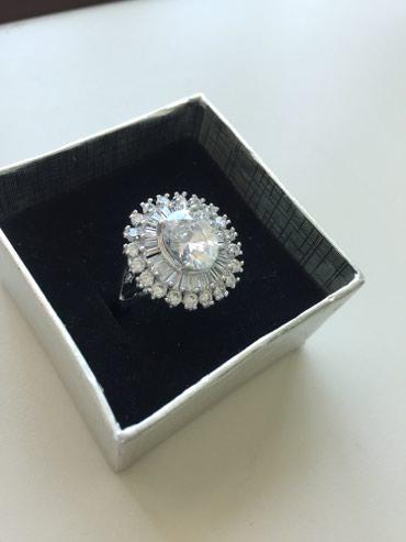 подарок девушке в Азербайджан: Отличный подарок Кольцо-бижутерия с камнями Swarovski