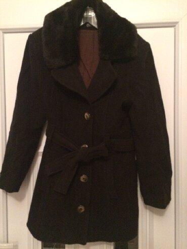 Kaput-vuna - Srbija: Zenski kaput, ocuvan, 83 posto vuna, br. 46