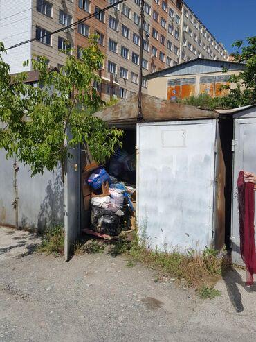 Продаю гараж металический с местом район мкр Улан. 800 $. Хорошее