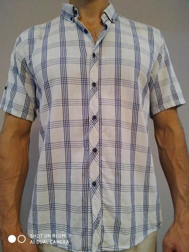 """Рубашка в отличном состоянии, """"м"""" 48-50р в Бишкек"""