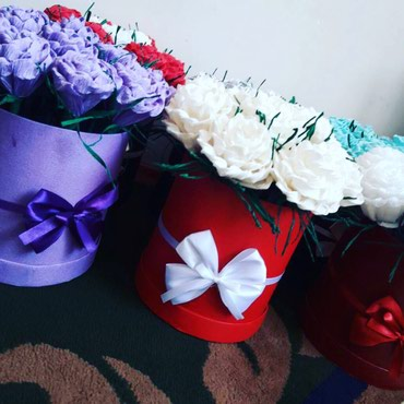 Цветы для бесценным дамам на заказ😍🌺 в Бишкек