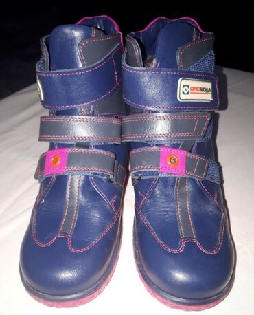 Детская обувь - Кыргызстан: Детские сапоги на девочку ортопедические Новые.Заказали с Москвы