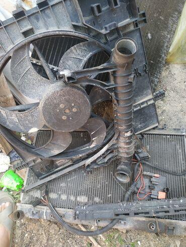 Мерседес радиатор электронной вентилятор дифисор