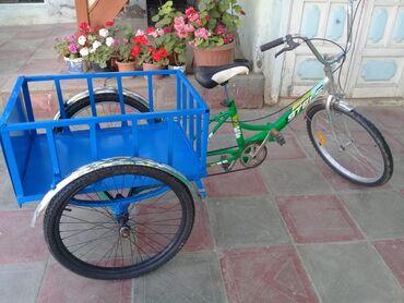 uc tekerli velosipedler - Azərbaycan: 3 tekerli velosipedimle maraqlanan varsa qiymetde endirim edib