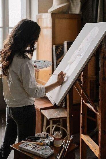 репродукция художников в Кыргызстан: Треб-ся администратор и учитель художник преподаватель в худож.школу