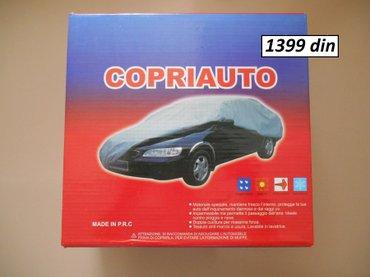 Cerada za auto vise velicina  nova, nekoriscena, u originalnom vakum p - Beograd - slika 4