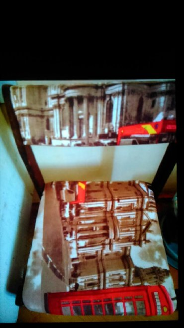 Дом и сад в Гянджа: Stul satilit yaxsi veziyettedi 6 denedi 100 manata. Gence seherinde