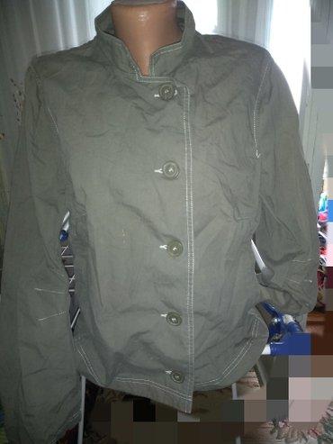 200с Куртка тонкая от H&M отл качество б/у серый цвет р 44/46 в Бишкек