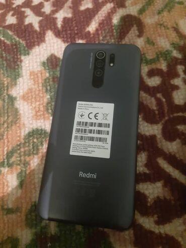 Электроника - Бакай-Ата: Xiaomi Redmi 9 | Синий | Сенсорный, Отпечаток пальца, Две SIM карты